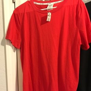 Pink by Victoria secret tee shirt size large